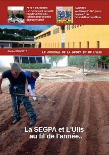 journal de la SEGPA 2016-2017 . Bonne lecture